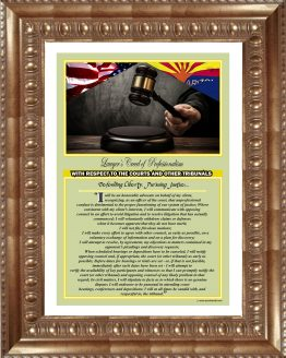 Arizona_Lawyers_Creed_GLD5_Prints