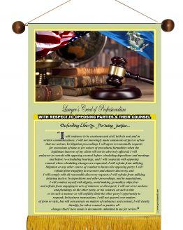 Connecticut State Lawyer's Creed Banner3