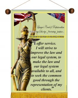 Georgia State Lawyer's Creed Banner2