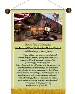 Illinois State Lawyer's Creed Banner3