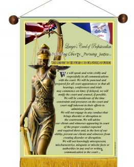 Iowa State Lawyer's Creed Banner2