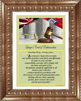 Arkansas_Lawyers_Creed_GLD1_Prints