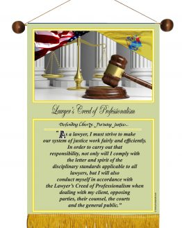 N. Jersey State Lawyer's Creed Banner1