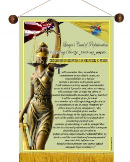 N. Jersey State Lawyer's Creed Banner2