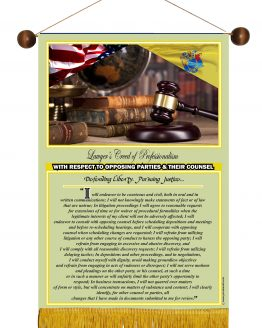 N. Jersey State Lawyer's Creed Banner3