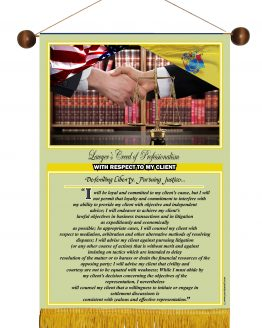 N.Jersey State Lawyer's Creed Banner4