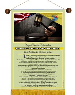 N. Jersey State Lawyer's Creed Banner5