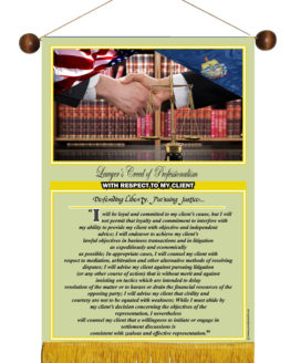 VERMONT STATE LAWYER'S CREED BANNER4
