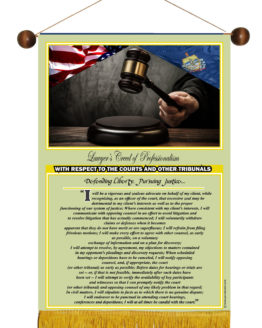 VERMONT STATE LAWYER'S CREED BANNER5